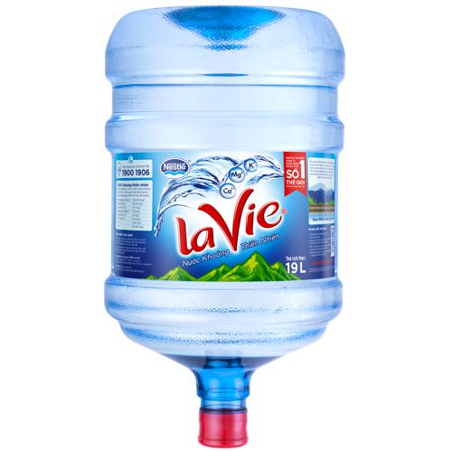Khuyến mãi nước khoáng Lavie Quý 4 năm 2018