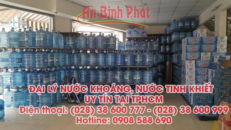 đại lý nước suối tại tphcm