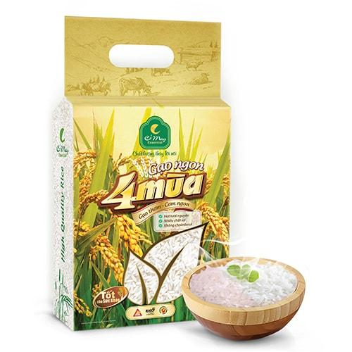 gạo ngon 4 mùa