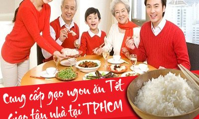 gạo ngon ăn tết