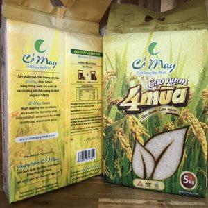 gạo 4 mùa Cỏ May