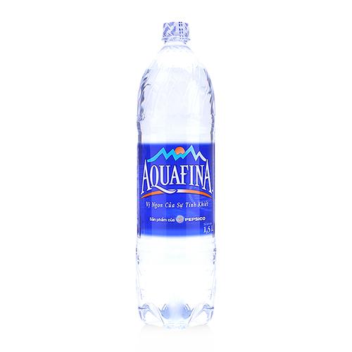 nước tinh khiết aquafina