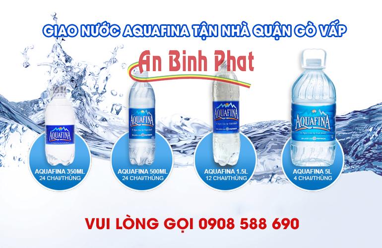 nước aquafina quận tân phú