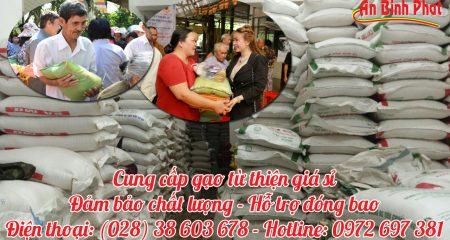 gạo từ thiện giá sỉ