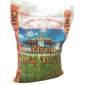 gạo thơm lài miên