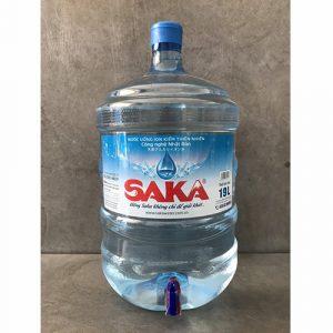 nước uống Saka 19L