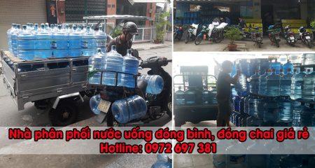 phân phối nước bình 20 lít