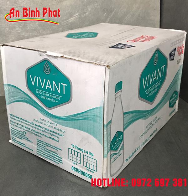 thùng nước khoáng Vivant 500ml