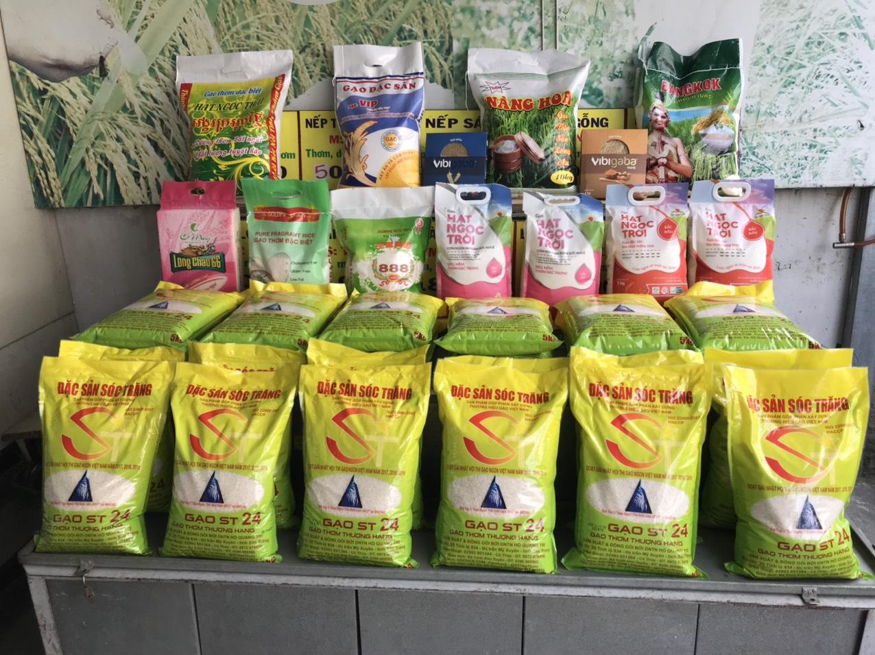 nhà phân phối gạo đặc sản Sóc Trăng