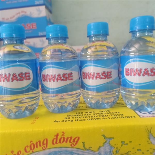 Nước suối BIWASE chai nhỏ 210ml