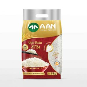 Gạo thơm A An ST24 túi 5kg